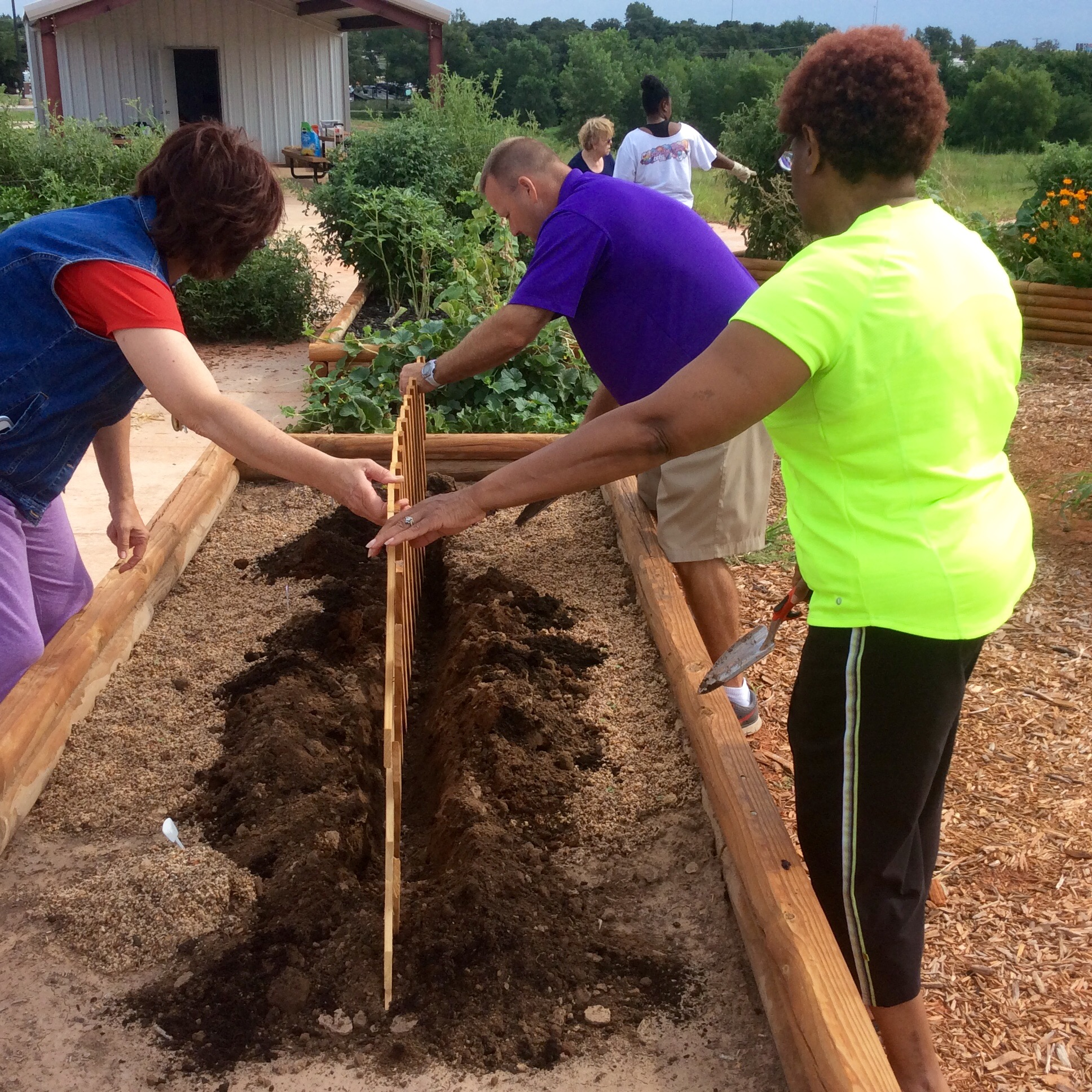 OKC-County Health Department :: Community Garden