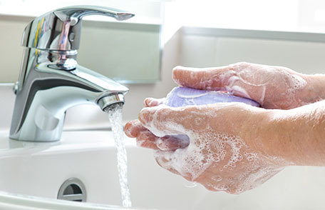 Wash Your Hands Often to Stay Healthy