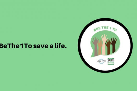 #BeThe1To Save A Life!