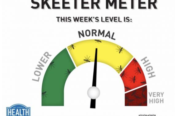'​Skeeter Meter' Status: Normal