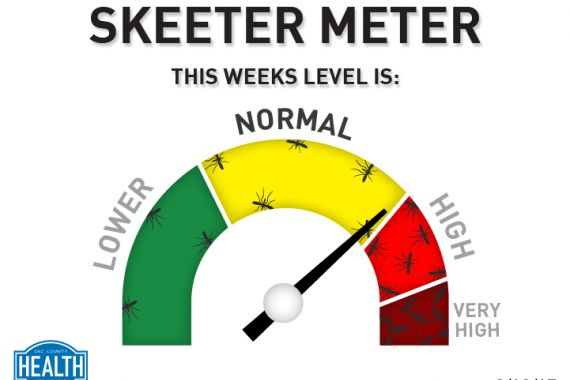 Skeeter Meter Status - Normal